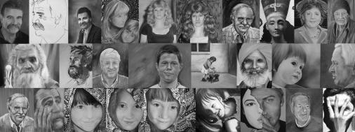 Gesichter 2006 - 2010